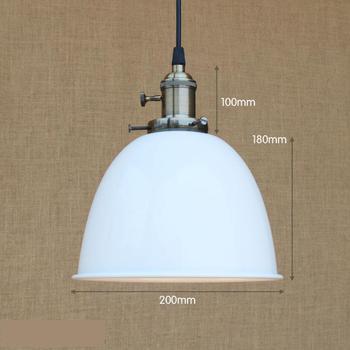 1 шт., художественный декор для магазина, подвесные светильники для столовой, ретро цветная Подвесная лампа для ресторана, бара, кухни, освещ...