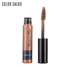 Color Salon Tinted Eyebrow Mascara 7g Brand Waterproof Long Lasting Eye Makeup For Women Eyelashes Cosmetic Curler Make Up
