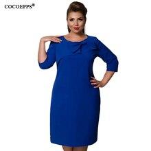 COCOEPPS Elegant Bow Ladies Dress