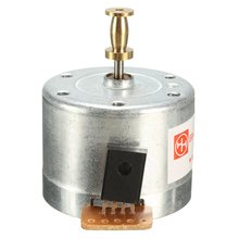 LEORY Metal Turntables Motor 25 mm Mounting Holes DC 9-12V 3-Speed 33/45/78 RPM Turntable Record Player Motor New Arrival