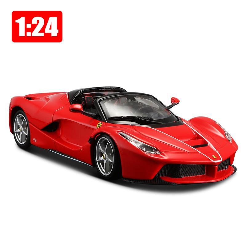 Bburago Simulation modèle 1:24 alliage Super sport voiture 70th anniversaire édition modèles jouet enfants garçon nouvel an cadeau