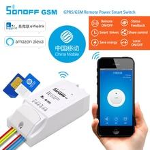G1 Sonoff: GPRS/GSM Zdalnego Zasilania Inteligentny Przełącznik Zdalnie włączyć/off agd przez Android i iOS eWeLink poprzez GPRS sieci