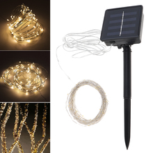 Buy security light flashing and get free shipping on aliexpress sale 10 meter 100 led solar light outdoor garden christmas flashing lights for holiday decoration aloadofball Image collections