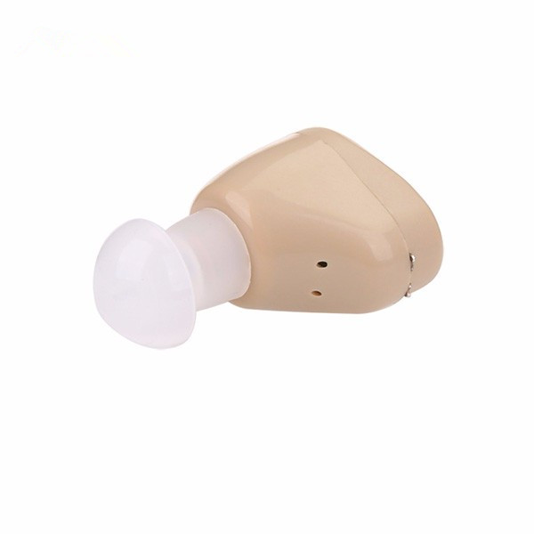Rechargeable hearing aid ITE In the Ear Hearing Aid For sound Loss Vioce Amplifier Listen Up with Portable Case