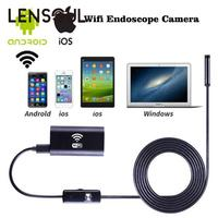 1m 1 5m 2m 3 5m Hard Cable For IPhone IOS Android Wifi Endoscope With 8mm