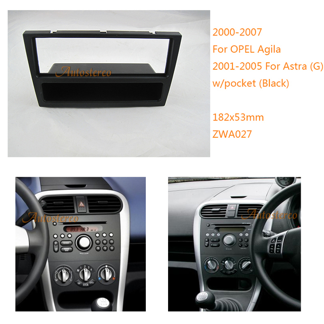 car stereo radio fascia plate panel frame kit for opel. Black Bedroom Furniture Sets. Home Design Ideas