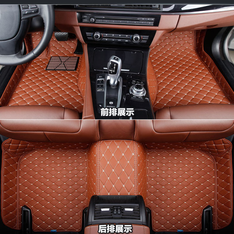waterproof custom fit for For VOLKSWAGEN VW GOLF 6 /GOLF 6 GTI 2008-2012  auto car floor mats  accessories car styling floor mat car rear trunk security shield cargo cover for volkswagen vw golf 6 mk6 2008 09 2010 2011 2012 2013 high qualit auto accessories