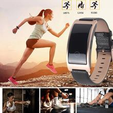 Smart Wristband Blood Pressure Heart Rate Monitor Tracker Bracelet Pedometer IP67 Waterproof blood oxygen pedometer calories