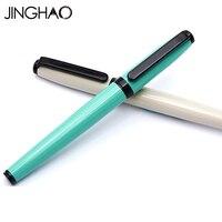 Jinghao KACO COBBLE Serie Einfache Geschäfts Roller Stift Mode Grünen Elfenbein Weiß Kugelschreiber mit Schwarz Clip Kugelschreiber