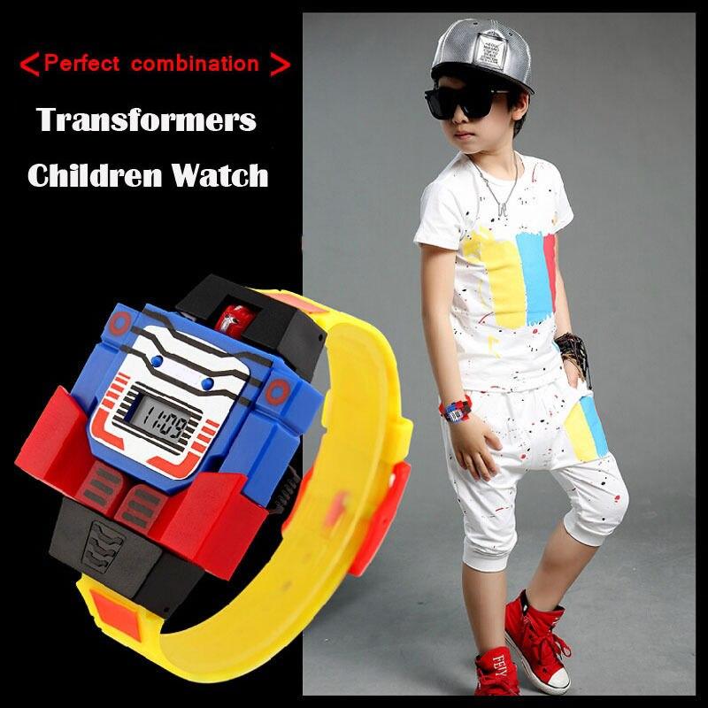 Fashion Toys For Boys : Fashion led digit kids children watch sports cartoon