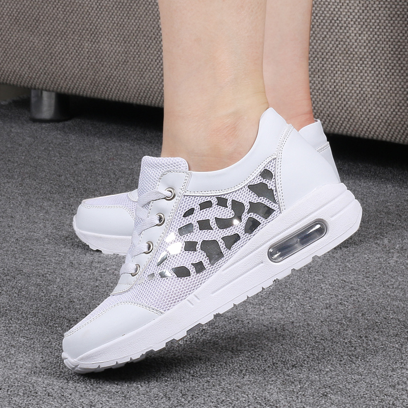 Trainers Women Casual Shoes Summer Style Outdoor Breathable Low Top Shoes Woman Flat Heels Sport Ladies Shoes Size 35-40 ZD71 (20)