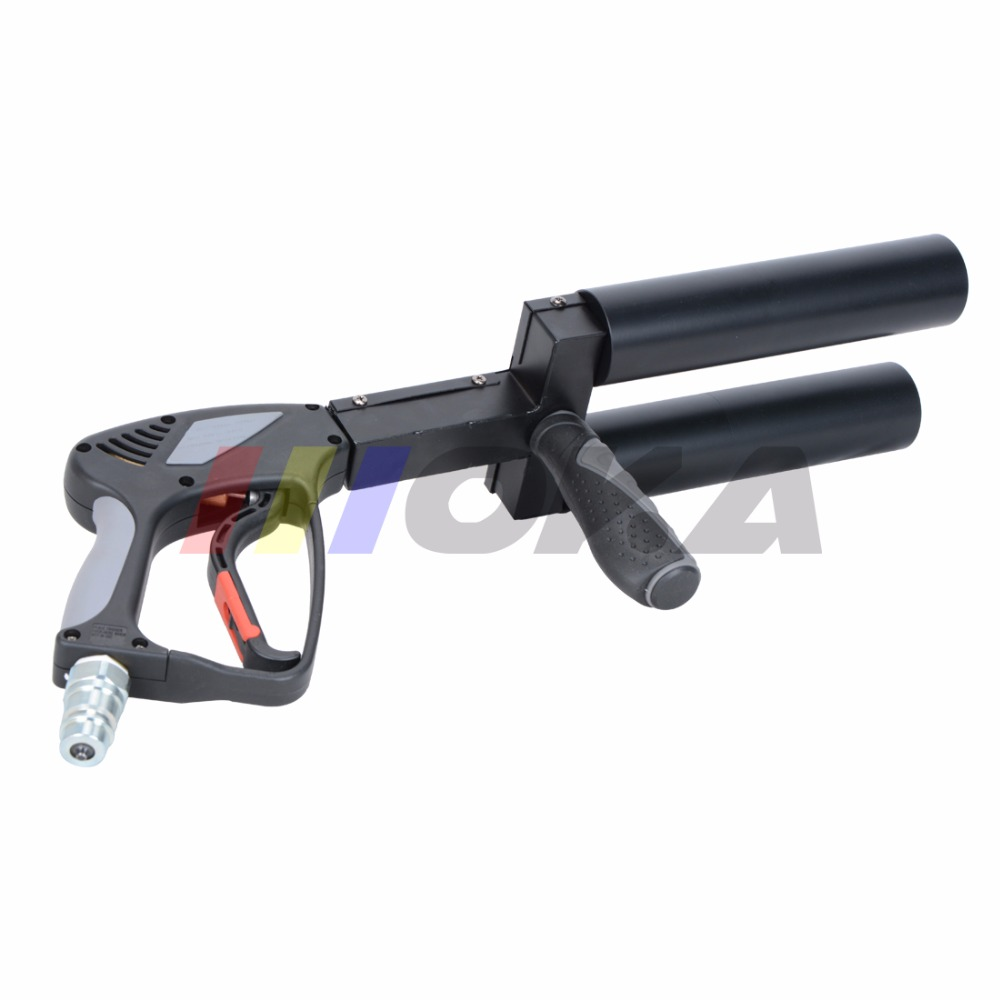 New Handhold CO2 DJ gun pistol CO2 jet Machine stage effect machine 3m high quality gas hose for stage dj show disco night club free shipping gpct1 2p 16a 25a 220v 230v 50 60hz din rail household ac contactor 2no for household home hotel resturant