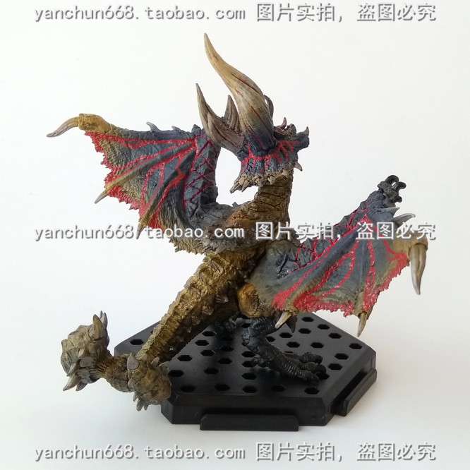 Brand New Game Action Figure Toys Monster Hunter Diablos PVC Dragon Figure Model Toy For Collection/Gift/Decoration brand new animals figure toys friesian horse mare 14cm length pvc figure model toy for gift collection kids