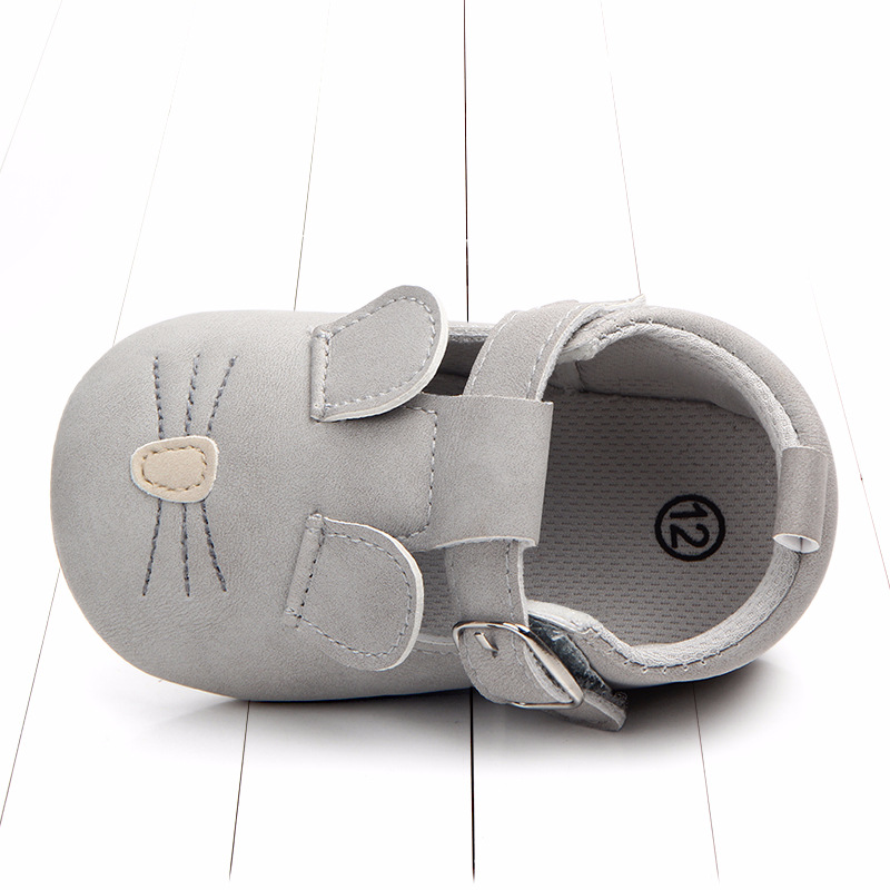 Baby First Walkers Matte leather Shoes for Baby Girl Boy Cartoon Animal Newborn Slippers Footwear Booties Kids Gift Child Shoes (18)