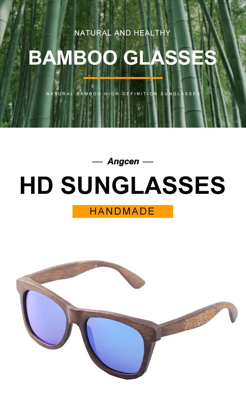 Angcen Unisex Polarized Sunglasses for Men Women 10