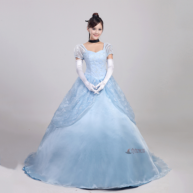 Athemis Anime Cinderella Cosplay Dress cosplay clothes custom made ...