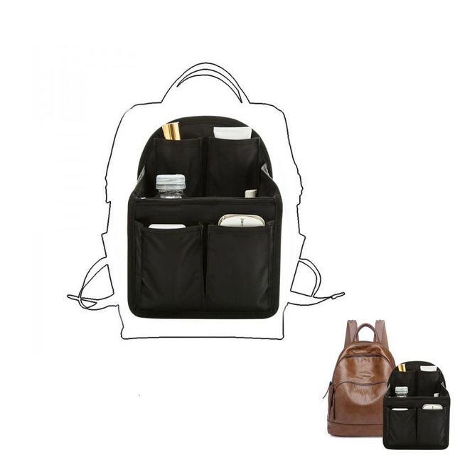 Bag In Bag Backpack Insert Organizer Sundries Finishing Storage Bag Travel Portable Diaper Shoulders Bag Handbag Organizer