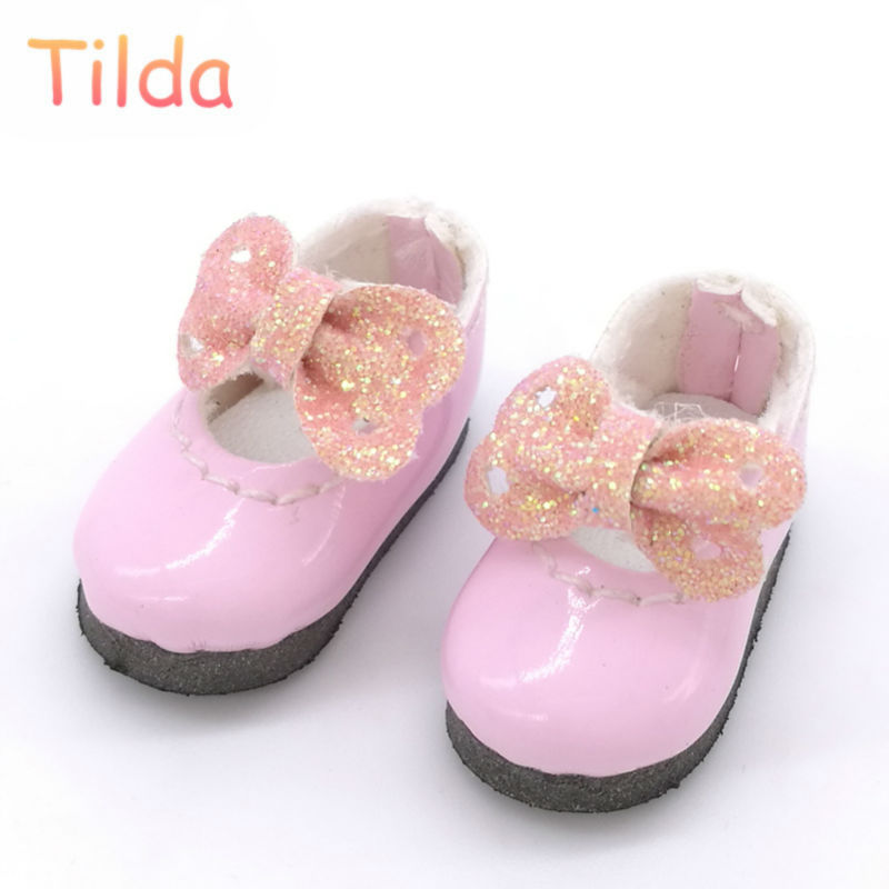 Tilda 2.5cm Doll Boots for Blythe Doll Toy,Lovely Mini PU Leather Dolls Shoes for Blyth BJD Toy for Pukifee Doll Accessories uncle 1 3 1 4 1 6 doll accessories for bjd sd bjd eyelashes for doll 1 pair tx 03