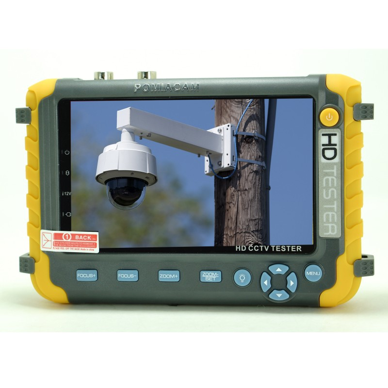 4 в 1 5MP AHD TVI 4MP CVI аналоговая камера безопасности тест er IV8W 5 дюймов CCTV Тест er монитор VGA HDMI вход UTP кабель тест