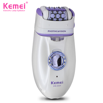 Kemei 2 in 1 Epilator Electric Shaver Defeatherer Depilatory Rechargeable KM-2668 Hair Remover Female Body face Underarm kemei 2 in 1 epilator electric shaver defeatherer depilatory rechargeable km 2668 hair remover female body face underarm