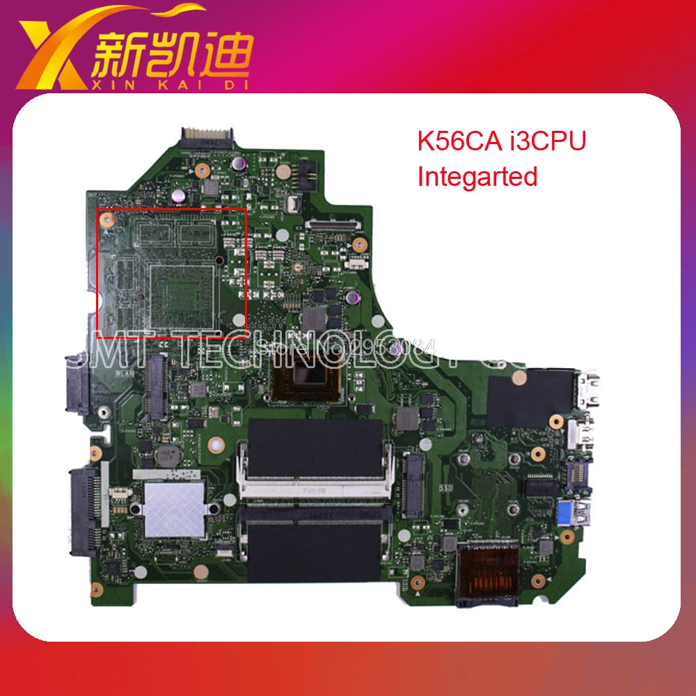 где купить For Asus K56CM K56CA Laptop Motherboard With i3 CPU Integrated Graphics GM fully tested working good Free Shipping по лучшей цене