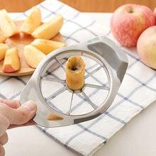 Kitchen Gadgets Stainless Steel Apple Cutter Slicer Vegetable Fruit Tools Kitchen Accessories Fruit Knife Salads Tools L35 salads