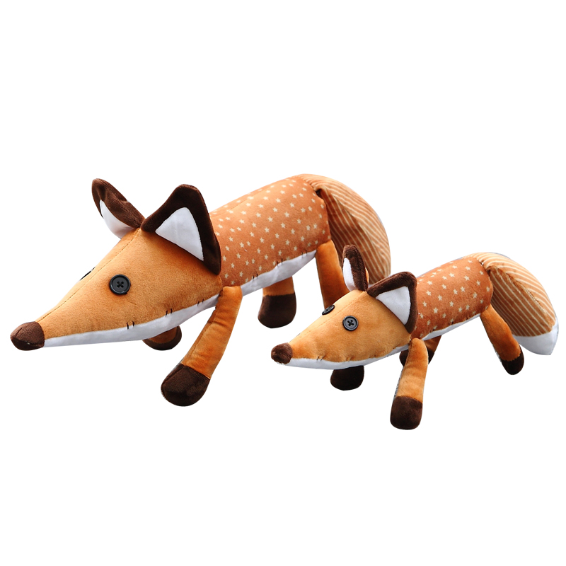 1pc 45/60cm Movie Le Petit Prince The Little Prince Fox Plush Toy Soft Dolls Foxes Stuffed Toys Animals Education Toy For Baby