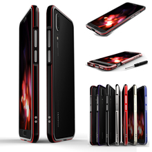 For Huawei P20 Pro Case Aluminum Metal Bumper Case for Huawei P20Pro Dual color Frame For Huawei P20 Plus P20+ Case 61''