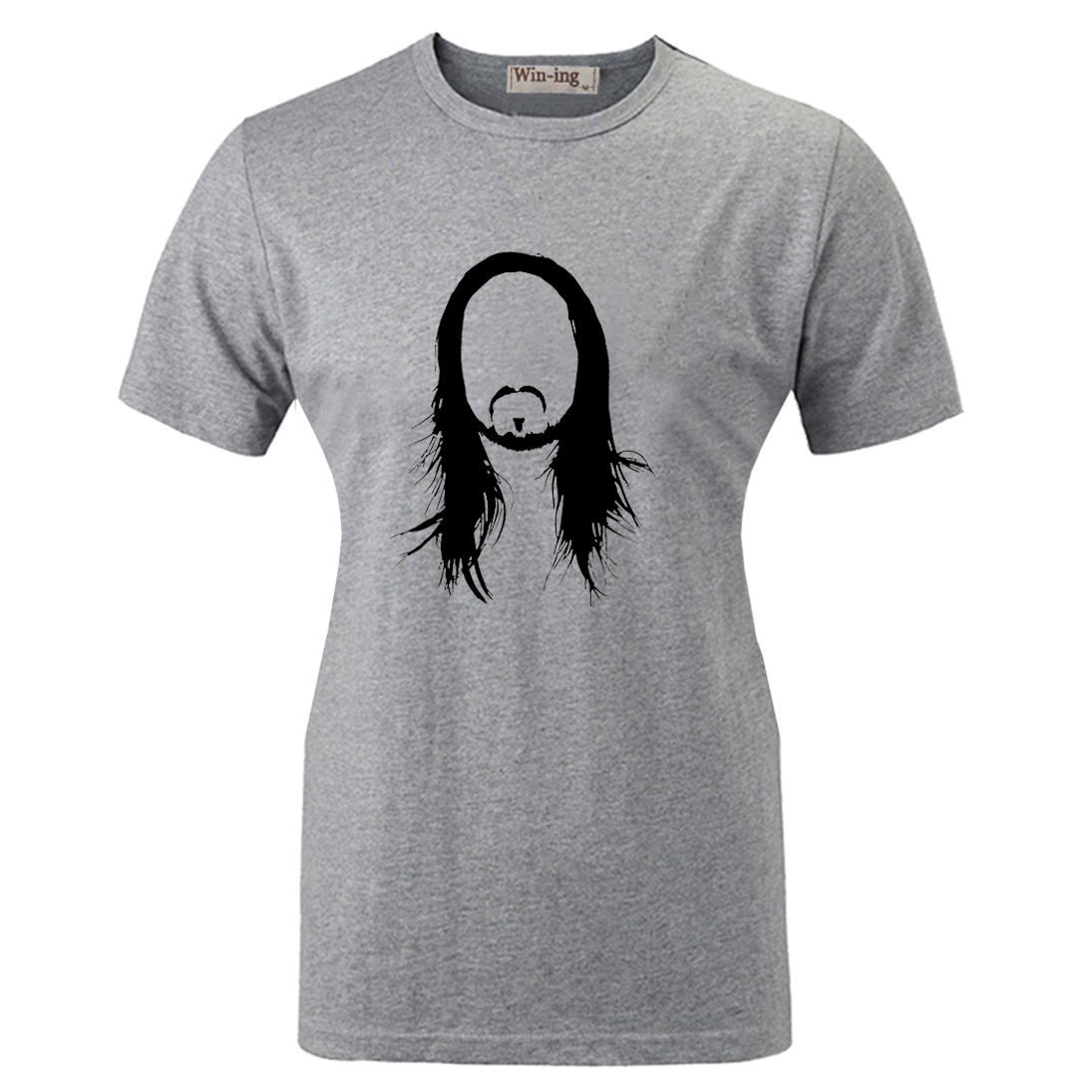 Summer Fashion Casual Cotton T shirt Punk Steve Aoki Silhouette Electro Inspired Graphic Women Girl Short Sleeves T-shirt Tops