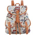 Sansarya 2017 New Jacquard Owl Parttern Mochila Feminina Backpack Women Bagpack Sac A Dos Rugzak School Bags for Teenagers