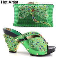Hot Artist Nigerian Style Shoes And Matching Bags Latest Italian Shoes With Bags To Match Shoes