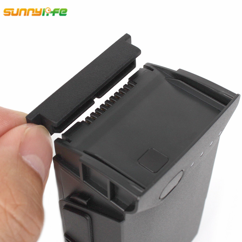 Sunnylife DJI Mavic Air Accessories Battery Anti-dust Case Protector Silicone Body Port Terminal Cover For DJI Mavic Air Drone dji dji mavic air accessories battery зарядное устройство po converter