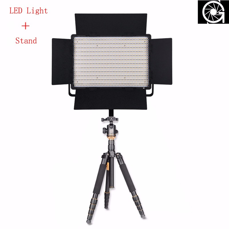 Nanguang CN-1200SA 5600K Dimmable 1152 Pcs LED Video Light LED Photography/Photo/Studio/phone Light Annular Lamp & Tripod Bags