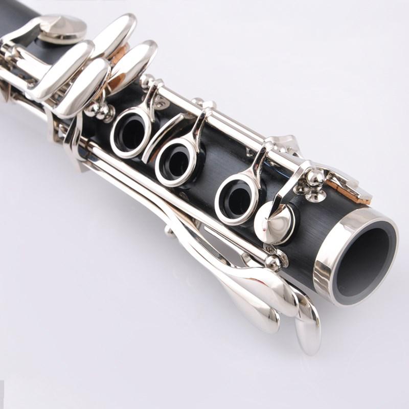 Free shipping complimentary clarinet bag reed screwdriver gloves,A clarinet woodwind instrument,A clarinet pure tone performance
