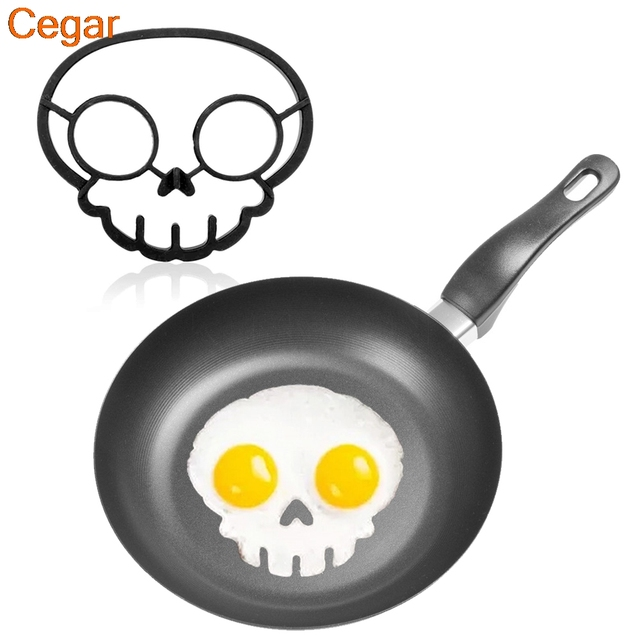 Rabbit Skull Smile Owl Egg Mold Shaper Kitchen Gadgets Fried Eggs Fun Cute  Mold Ring Shaper
