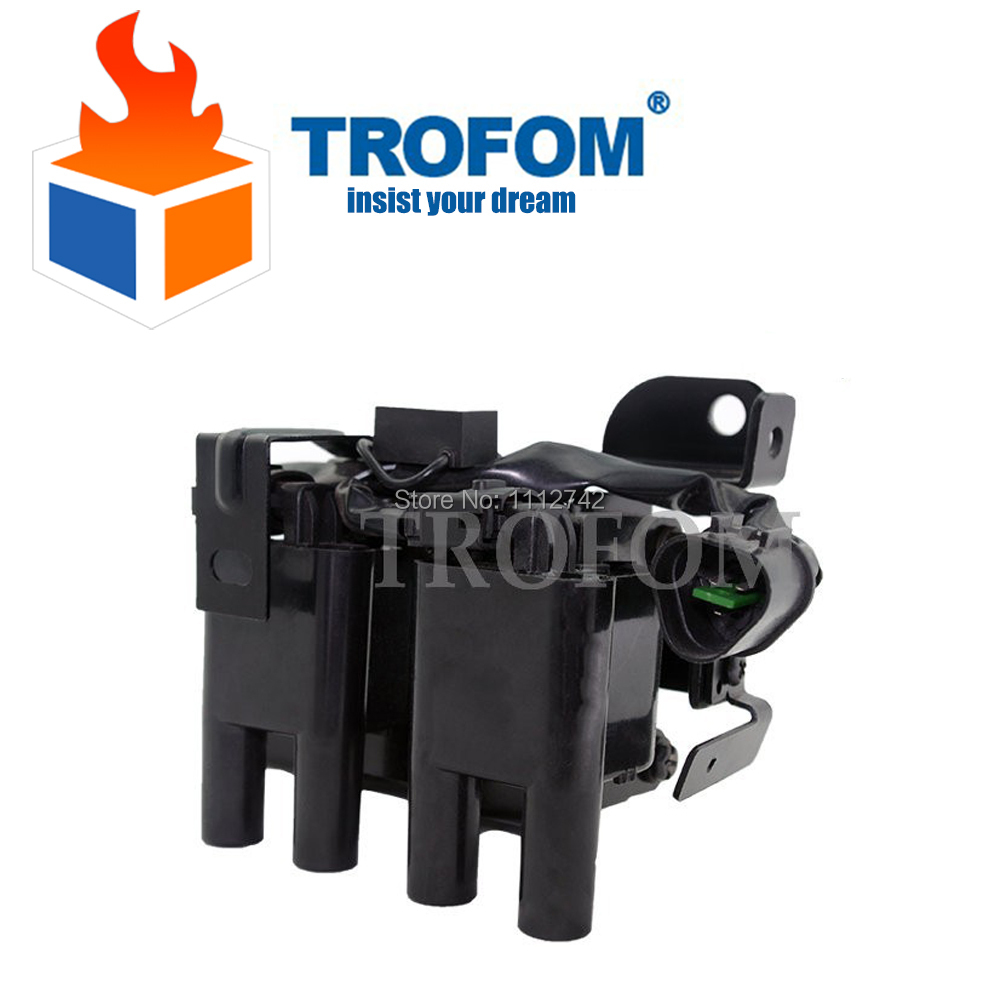 Auto Ignition Coil For HYUNDAI Atos Prime TOYOTA COROLLA 1.0i 1.1 1.6 46469863 27301-02600 <font><b>0</b></font> 986 221 <font><b>005</b></font> 2730102600 image