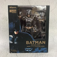 SHF 15CM The Dark Knight Batman Jointed Figure Doll Dc Super hero Bat man BJD Action Toy Kids Christmas Gifts(China)