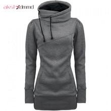 AKSLXDMMD Plus Size S-4XL Sweatshirt Women 2017 New Autumn Truien Dames Bts Kpop Causal Pocket Pullover Sweatshirt Coat LH589