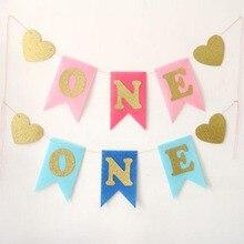 1 комплект, креативный Блестящий баннер с надписью «love» для девочек и мальчиков, высокий стул для дня рождения, детский душ, вечерние принадлежности принцессы для декора