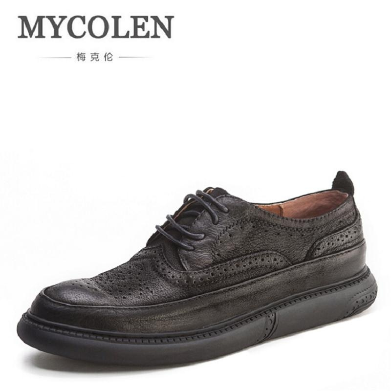 MYCOLEN Brand Men Shoes Fashion Autumn Comfortable Men Casual Shoes Men Breathable Flats Shoes Man Wedding Shoes schoenen mannen gram epos men casual shoes top quality men high top shoes fashion breathable hip hop shoes men red black white chaussure hommre