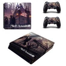 NieR: Automata PS4 Slim Sticker for PS4 Slim Console and Two Controller Skins for Sony Playstation 4 Slim Cover
