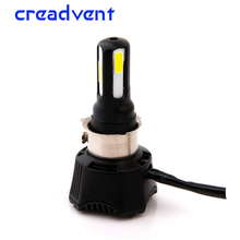 ФОТО creadvent 40w led ba20d motorcycle headlight motorbike light h4 flasher motor lamp h6 motorcycle accessories