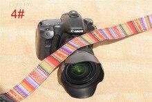 Best Double Cotton Yard Colorful Pattern Camera Shoulder Neck Sling Hand Strap Belt