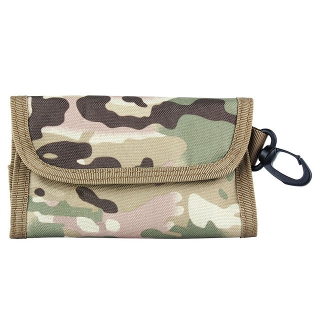 4 colors tactical army military style wallet bag waist pack pouch id