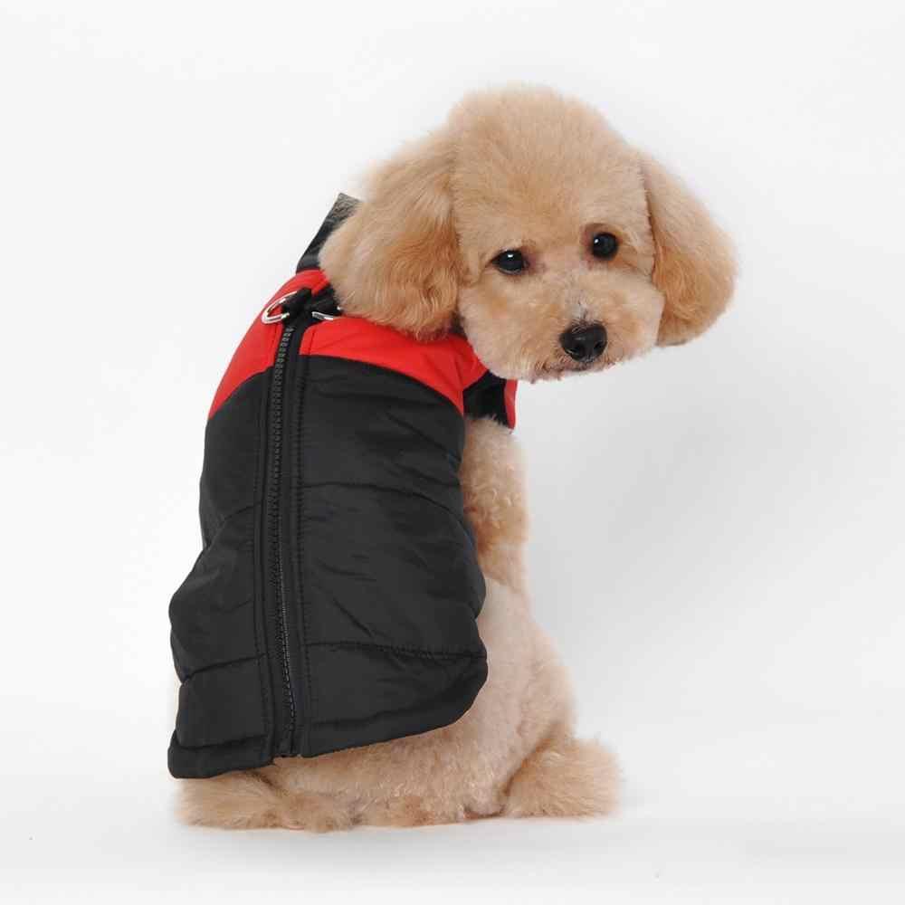 P01 Waterproof Pet Dog Puppy Anjing Kucing Pakaian Musim Dingin Rompi Jaket Pakaian Hangat Mantel Jaket Ski Suit untuk Chihuahua Anjing