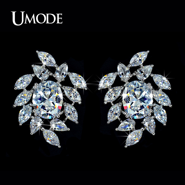 font b UMODE b font Brand Summer Jewelry High Quality AAA Cubic Zirconia Stones Bridal