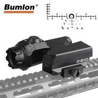 D EVO Dual Enhanced View Optic Reticle Rifle Scope CMR W Reticle Matt for Hunting Airsoft Magnifier 6x Reflex Sight RL6 0068