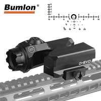 D-EVO Dual-Enhanced View Optic Reticle Rifle Scope CMR-W-Reticle Matt for Hunting Airsoft Magnifier 6x Reflex Sight RL6-0068