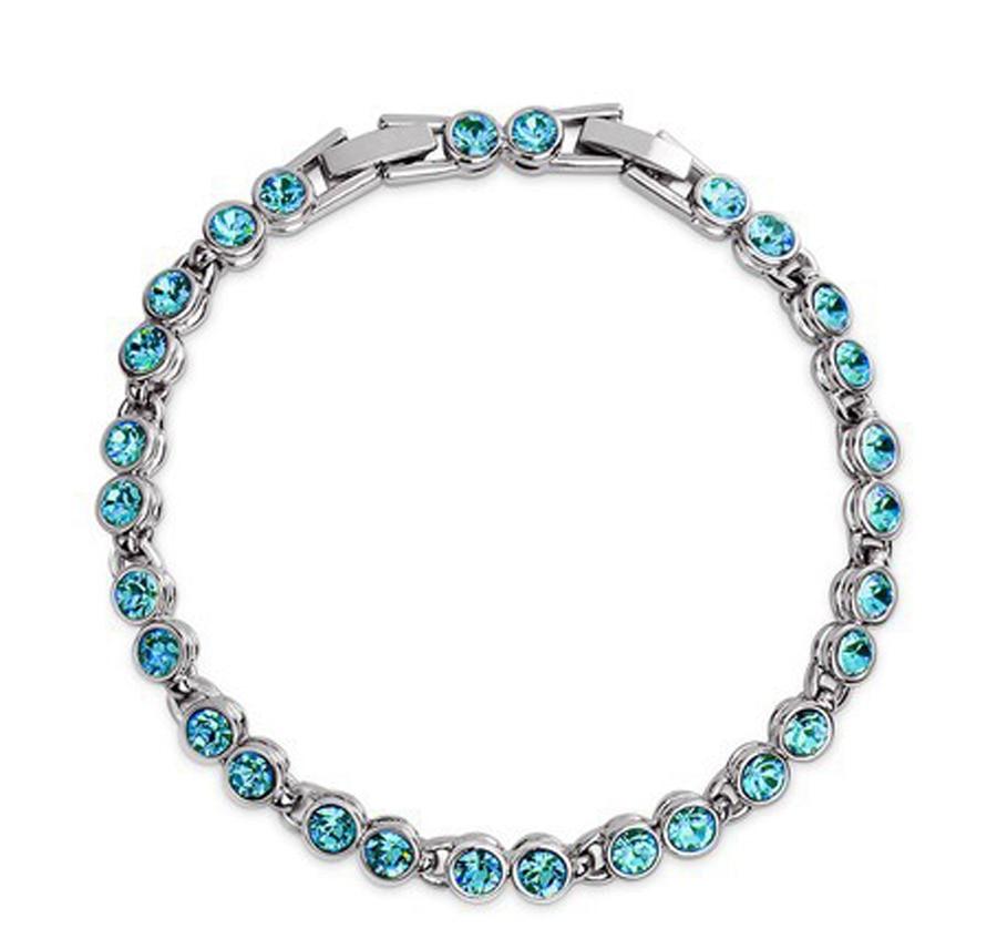 Østrigske krystal smykker herrearmbånd 2017 sølvbelagte paracord overlevelsesarmbånd til gave
