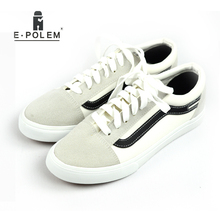 New Fashion Mens Casual Shoes Canvas Shoes for Men Lace up Breathable Summer Autumn Flats PU Leather Suede Shoes for Student